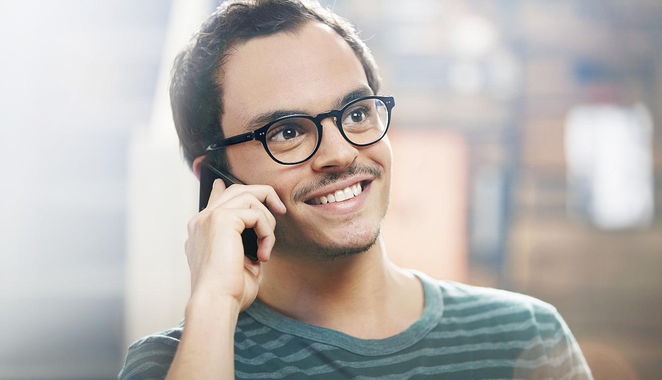Falar no telefone